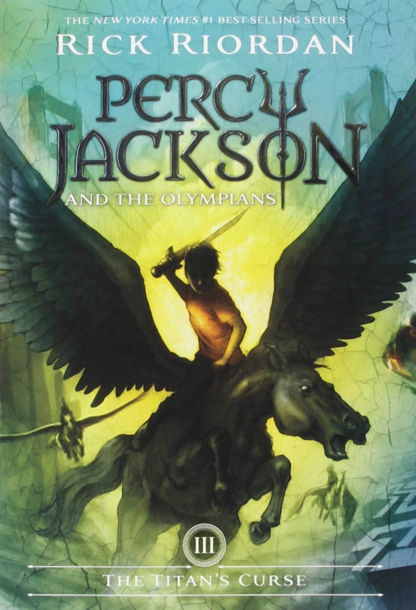 Image result for the titan's curse book cover