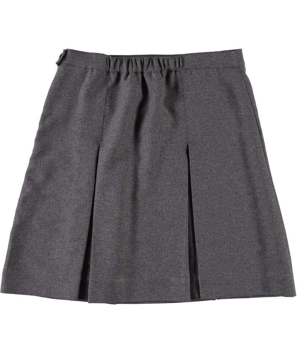 Cookie's Brand Big Girls' Plus''3'' Box Pleat Skirt - gray, 16.5