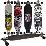 Longboards in 4 verschiedenen Designs