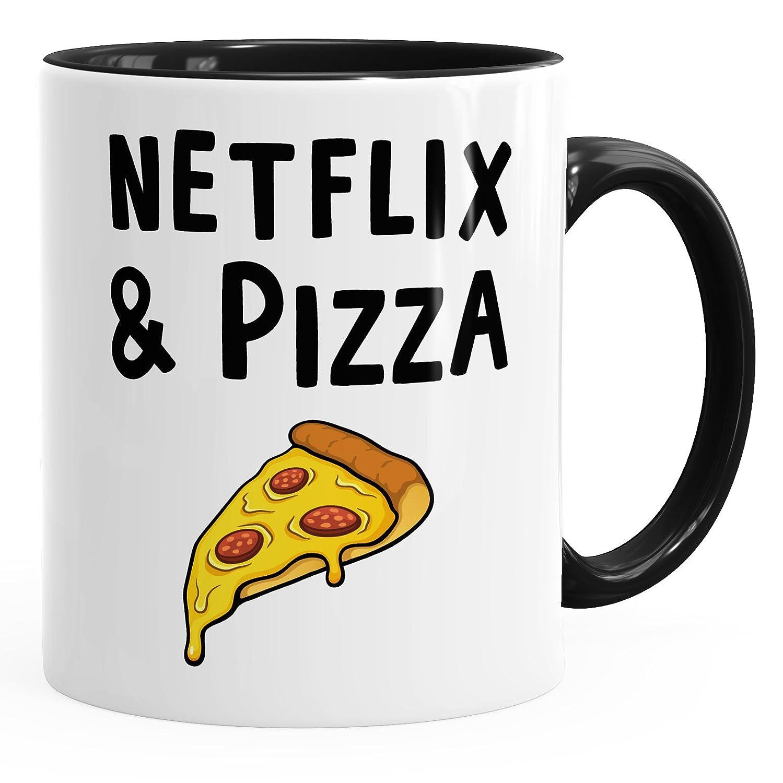 Netflix & Pizza - Inner Schwarz