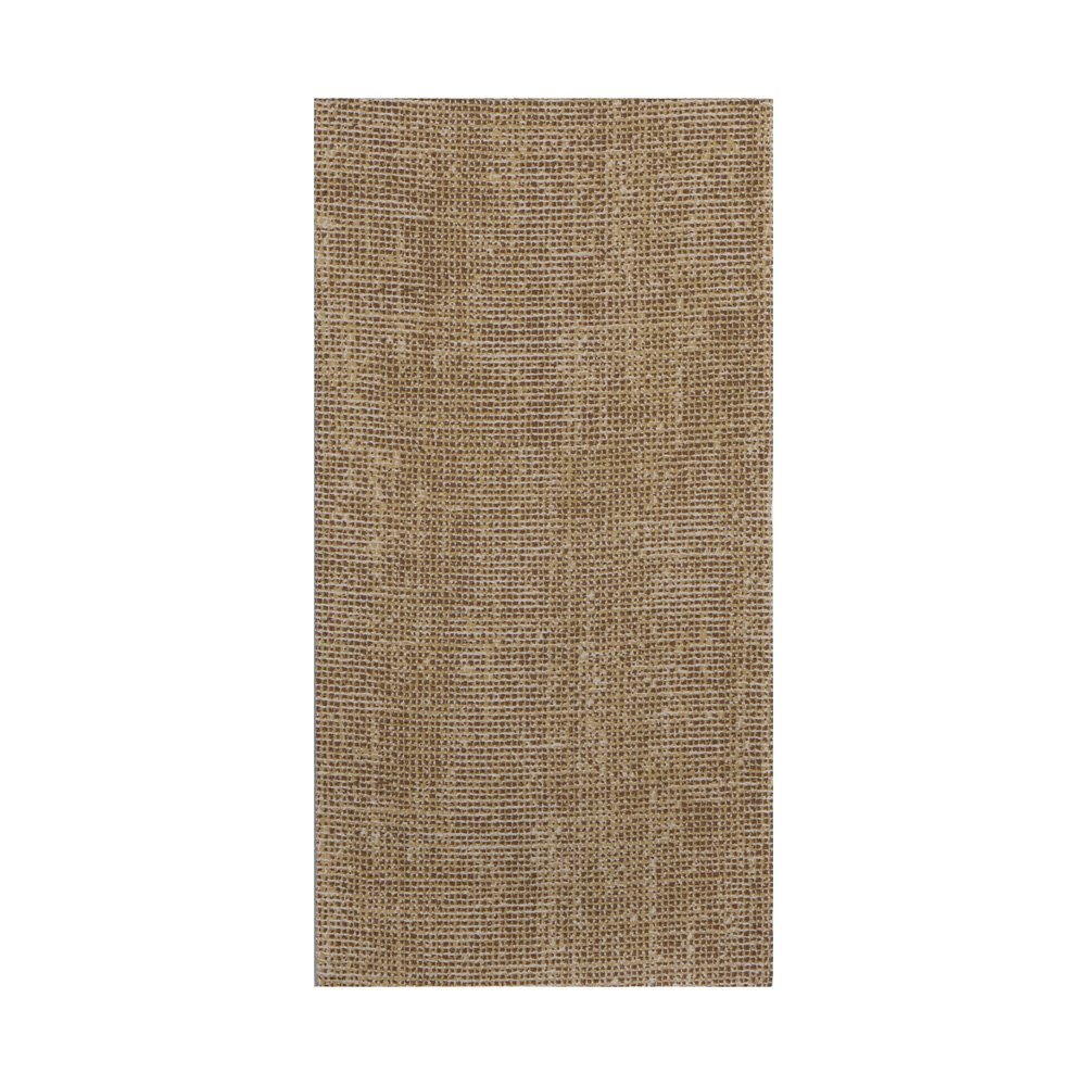 Hoffmaster FP1107 FashnPoint Burlap Printed Dinner Napkin, Ultra Ply, 1/8 Fold, 15.5'' Length x 15.5'' Width, Natural (8 Packs of 100) (Pack of 800)