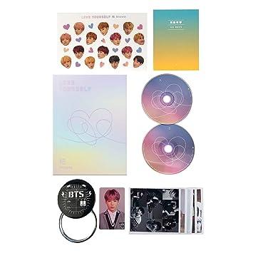 LOVE YOURSELF 結 ANSWER BTS Album 2CD + Photobook + Mini Book + Sticker Pack + FREE GIFT / K-POP Sealed: BTS: Amazon.es: Música