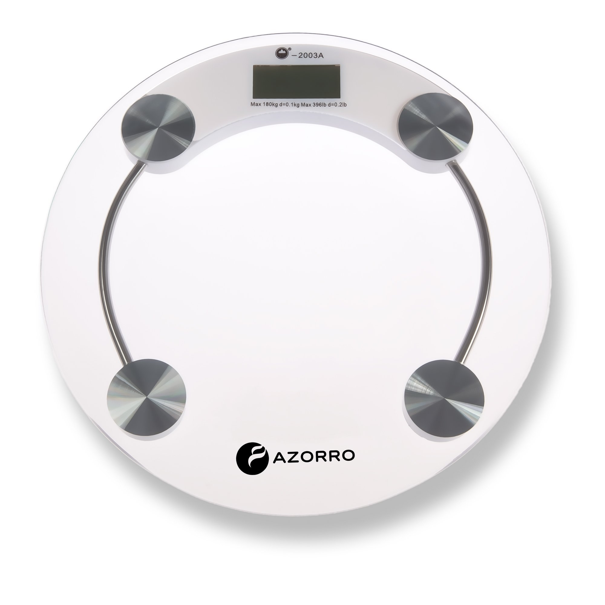 Precision Digital Bath Scale (396 Lbs Edition) - By Azorro - High Accuracy Premium Body Weight Scale