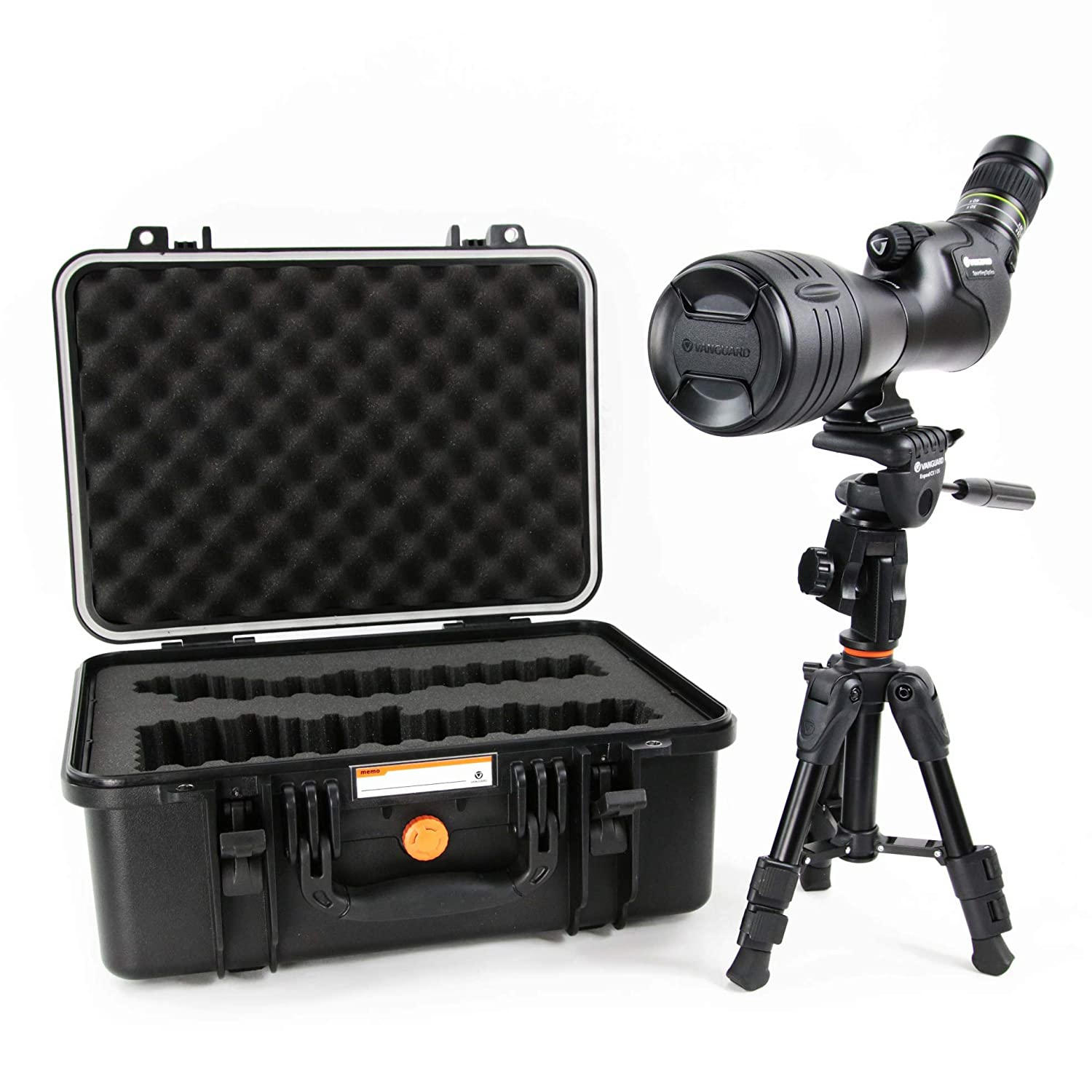 Vanguard Endeavor HD 82A 2060x82 Angled Spotting Scope with Bonus Tripod and Case
