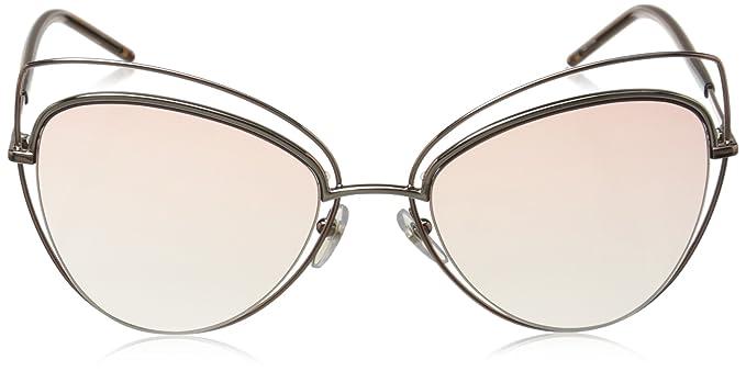 Womens Marc 10/S B0 Tyy Sunglasses, Pd Dkrut Brw/Green Blue Beige, 53 Marc Jacobs