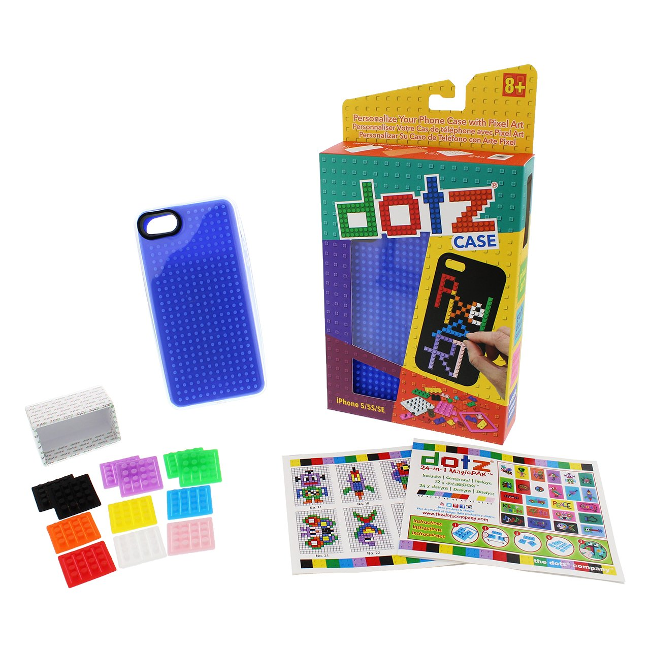 Amazon.com: DotzCASE iPhone 5 Cover Personalize Your iPhone with Pixelated Designs - Lemon Yellow: Cell Phones & Accessories