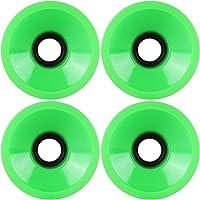 KSS - Juego de Ruedas para Longboard (74 x 57 mm), Color Verde