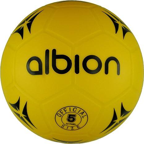 Only Cricket Albion - Balón de fútbol (plástico, tamaño 5): Amazon ...