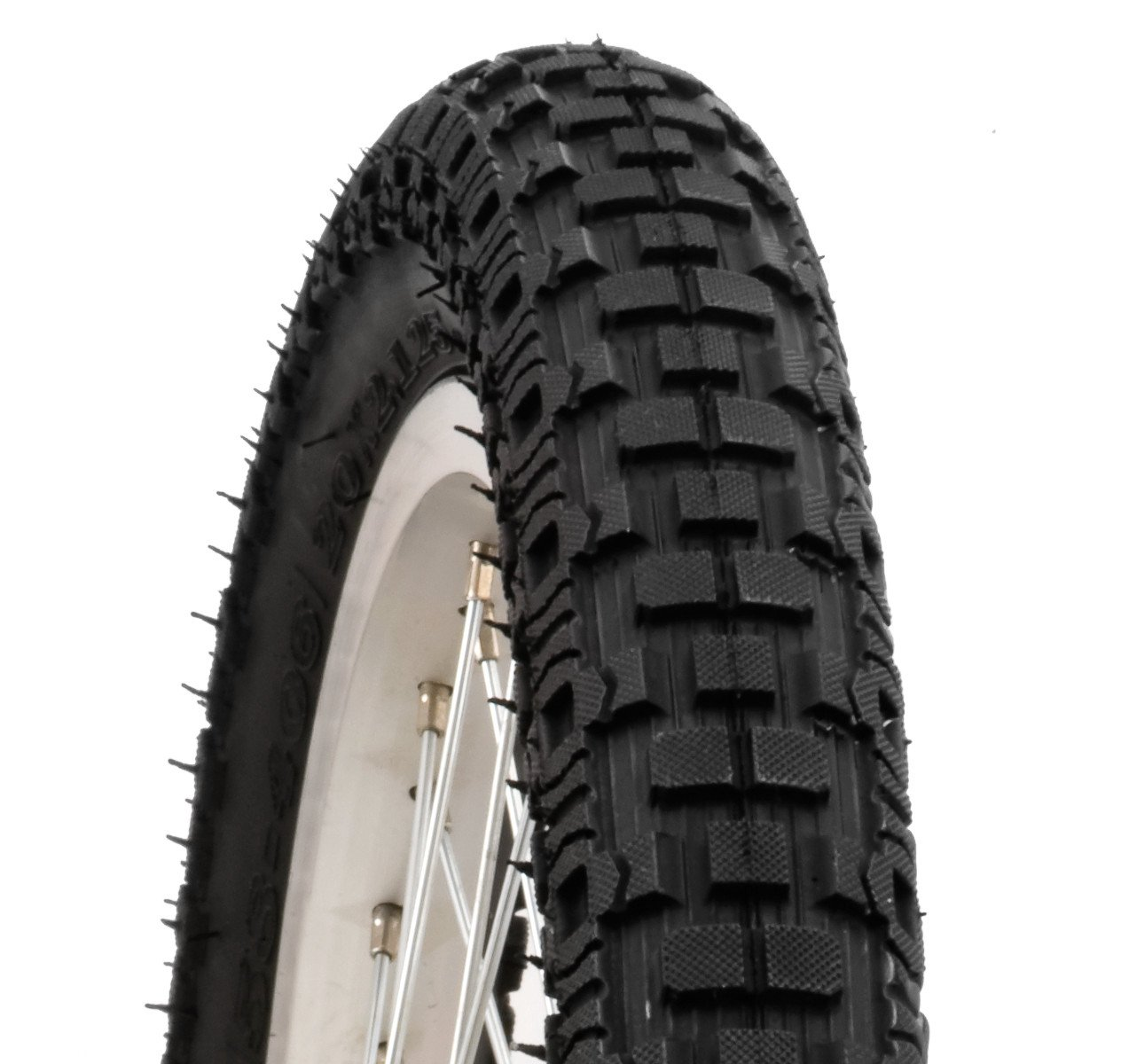 Schwinn Knobby Bike Tire with Kevlar (Black, 20 x 2.12-Inch)