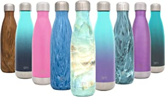 Simple Modern Vacuum Insulated Double-Walled Wave Water Bottle