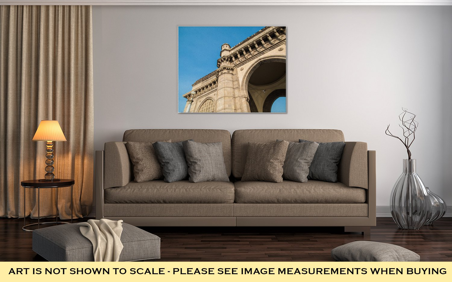 Ashley Canvas The Gateway Of India A Monument Built During The British Raj In Mumbai, Kitchen Bedroom Living Room Art, Color 24x30, AG5933218