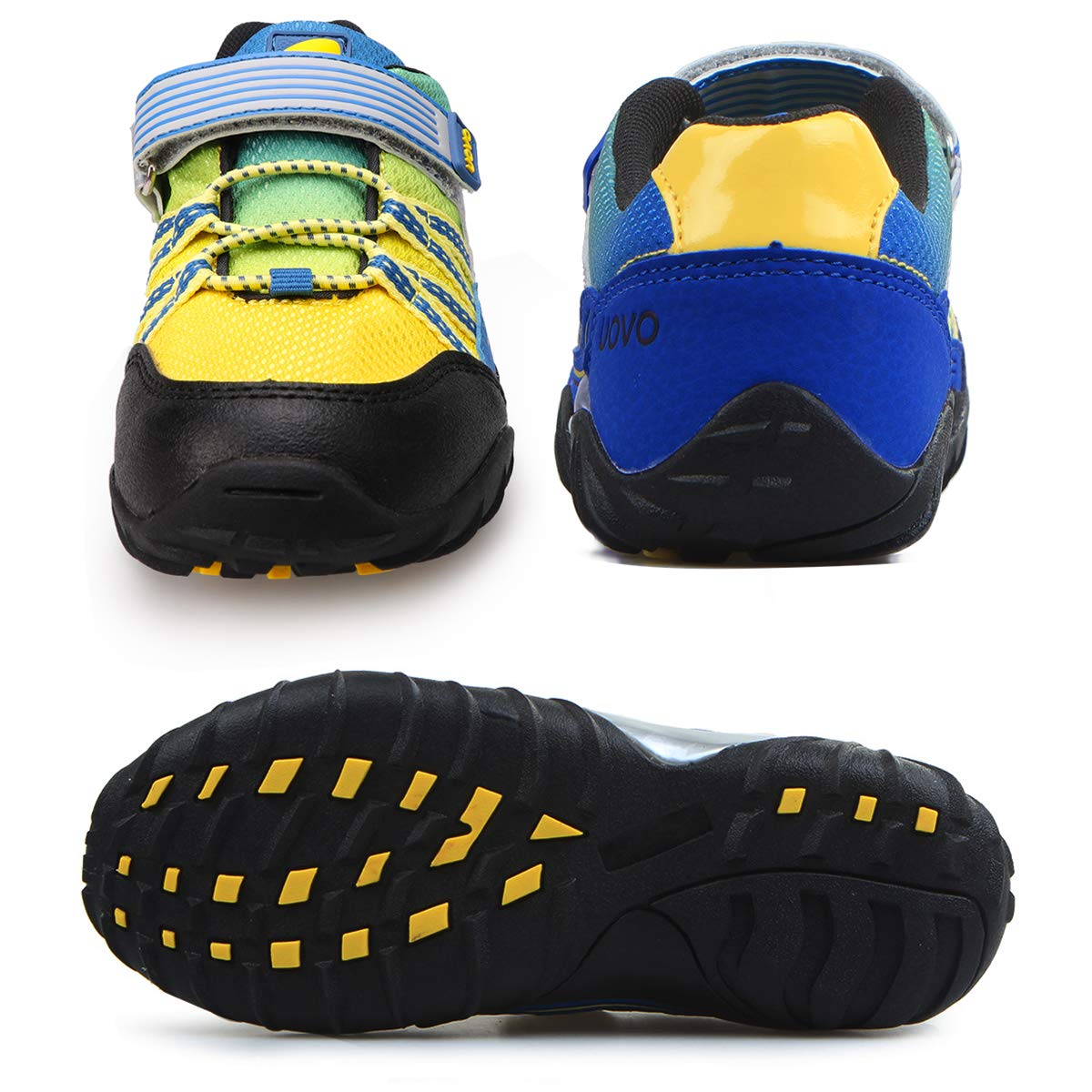 UOVO Little Boys Shoes Running Sneakers Kids Hiking Athletic Tennis Shoes for Toddler Boys Blue by UOVO (Image #6)