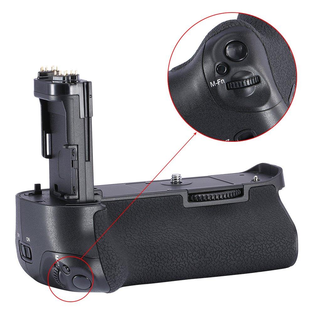 Reemplazo de empu/ñadura de bater/ía con pantalla LCD 2.4G y control inal/ámbrico para Canon 7D Mark II Neewer