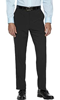 fa42b98f684 Chaps Men s Performance Comfort-Fit Wool-Blend Stretch Patterned Suit Pants  (36W x