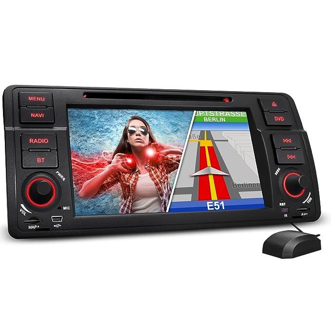 XOMAX XM-46B Radio de Coche Adecuado para BMW + coche/con navegador GPS