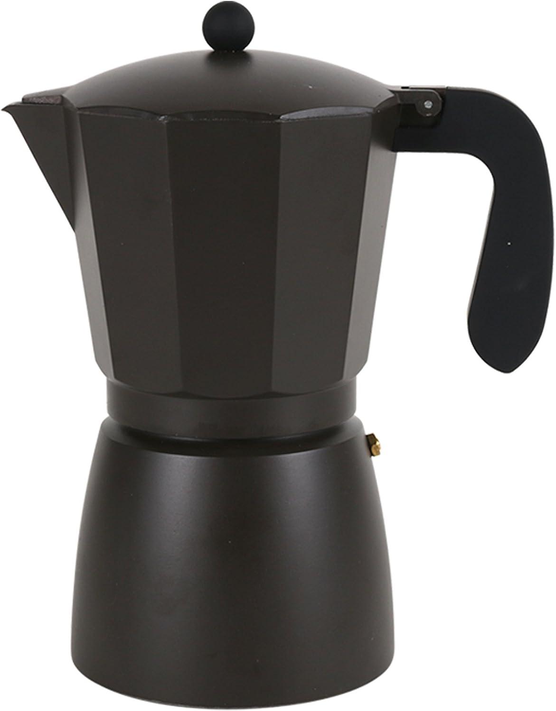 San Ignacio Cafetera 12T Soft Touch Dark Choco Negro, Aluminio, Polipropileno: Amazon.es: Hogar