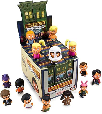"Bob/'s Burgers Blind Box 3/"" Mini Series 2 One Random"