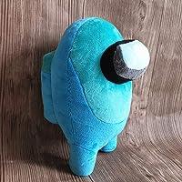 JULAN 8inch Among Us Plush Toy,Merch Crewmate Plushies, Cute Bulging Eyes Astronaut Plush Figure,Among Us Game Cute Doll…