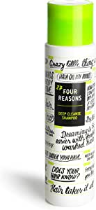 Four Reasons Clarifying Shampoo - Deep Cleansing Shampoo For Oily Scalp, Removes Styling-Product Residues and Impurities - Refreshing lime and citrus scent, 10.14 oz