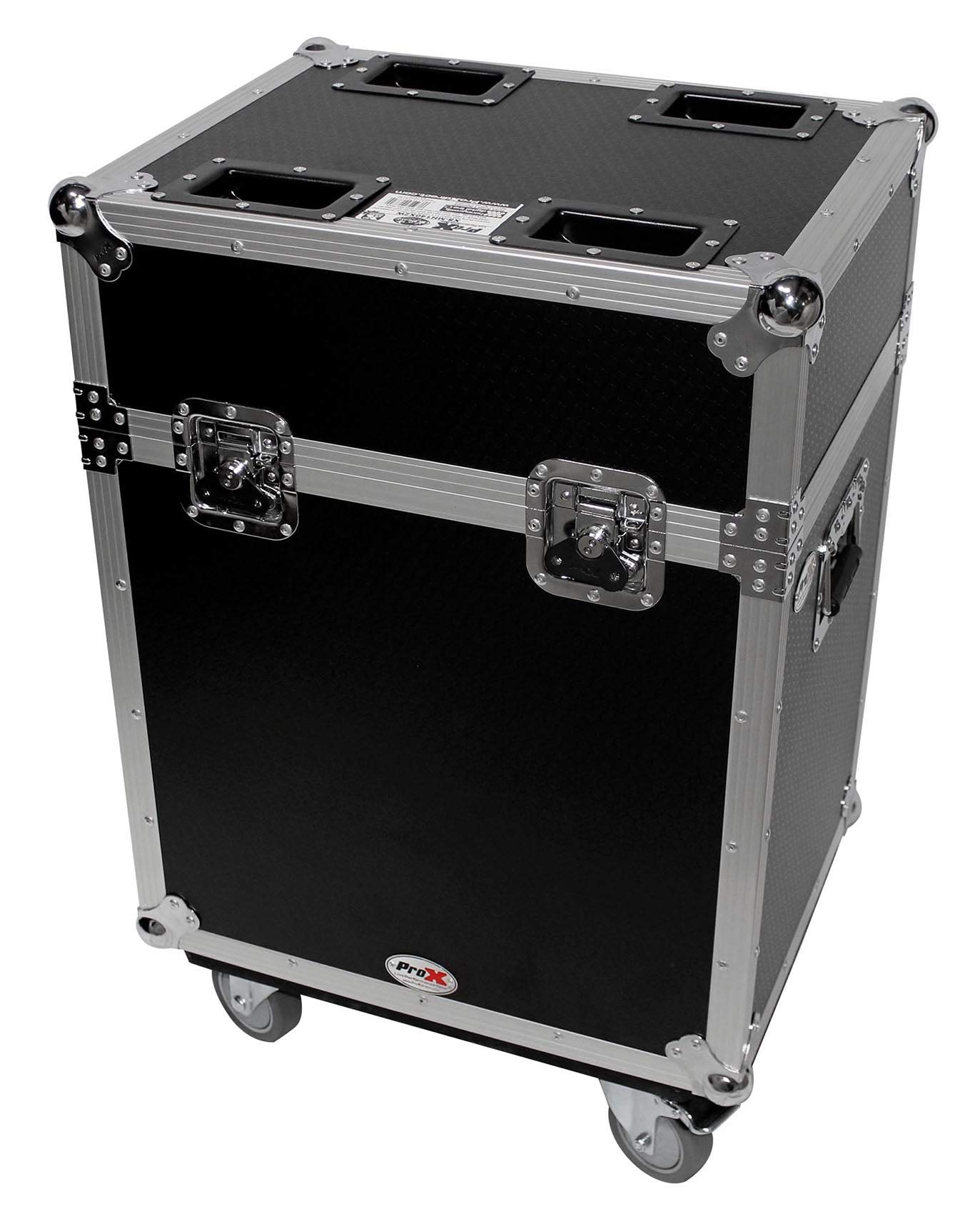 Flight Case w/Wheels For 2) Chauvet Intimidator Spot 355Z IRC Moving Head Lights