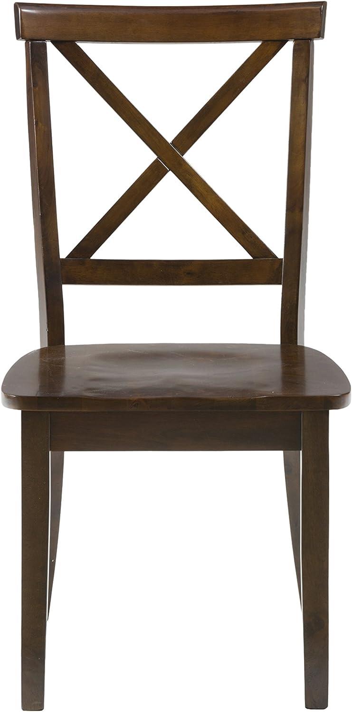 Jofran , Richmond Cherry, Dining Side Chair, 19 W X 23 D X 37 H, Richmond Cherry Finish, Set of 2