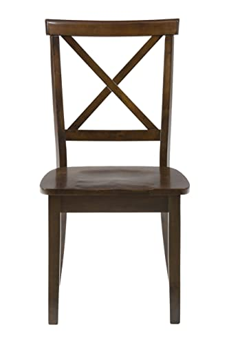 Jofran , Richmond Cherry, Dining Side Chair, 19 W X 23 D X 37 H, Richmond Cherry Finish, Set of 2