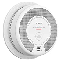 X-Sense Smoke Alarm, 10-Year Battery-Operated Smoke and Fire Alarm with Photoelectric Sensor and Silence Button, Compliant with UL 217 Standard, SD06