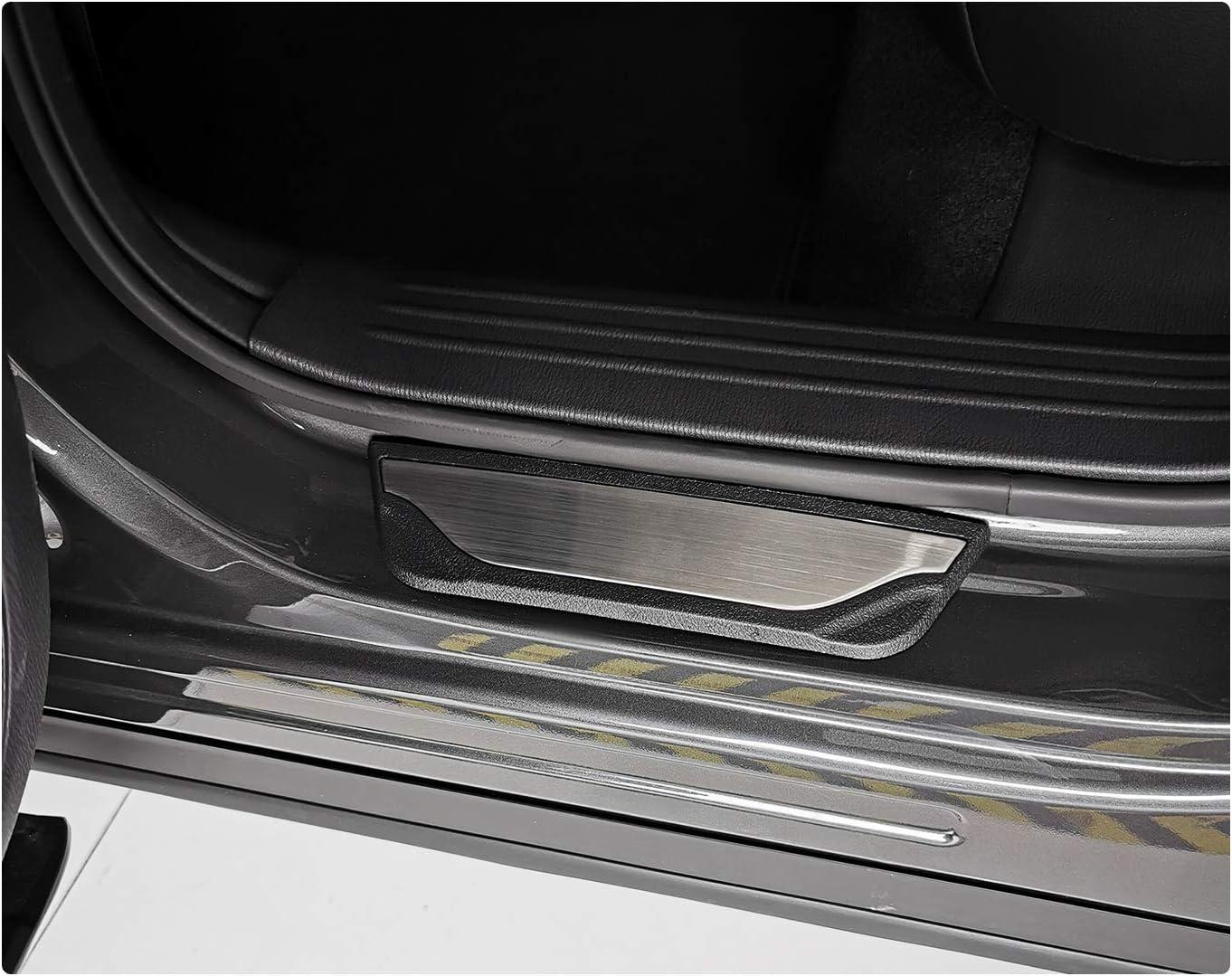 RUIYA Tarraco//Ateca SUV Listones de umbral de acero inoxidable Auto umbral parachoques Protecci/ón listones Auto Puerta de umbral 【 4 Unidades 】