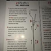 Amazon.com: in-Motion Pro - Muletas plegables ergonómicas, 1 ...