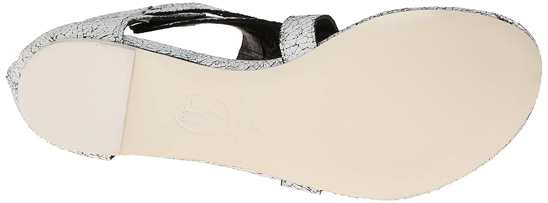 Ash Women's Onyx Synthetic Dress Sandal B00SDCMVTU 35 M EU / 5 B(M) US|White/Black