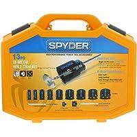 Spyder 13-Piece Bi-Metal Arbored Hole Saw Set