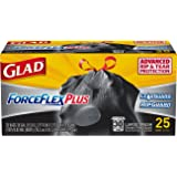 Glad Dual Defense Large Drawstring Trash Bags - 30 Gallon - 25 Count (Packaging May Vary)