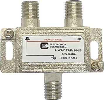 Elettronica Cusano 9133-10 - Distribuidor satélite a 1 salida ...