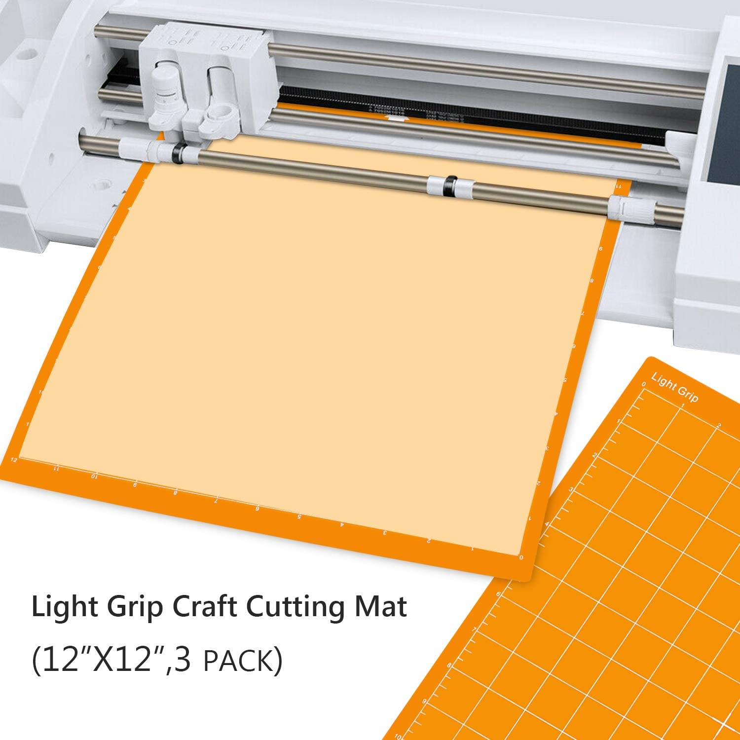 Healing Cutting Mat Enpoint 3 Pcs 12 x 12 in Standard Grip Cutting Board Art Mat Craft Cutting Mat for Silhouette Cameo 3//2//1 Cut Mat with Durable Adhesive Non-Slip PVC for Quilting,Scrapbooking