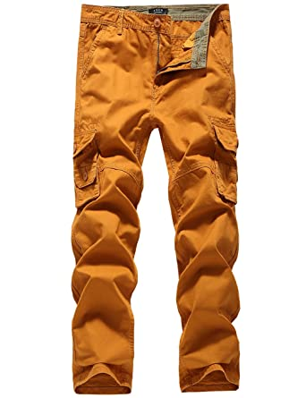 b8d82965fbccab SSLR Men's Straight Fit Twill Cargo Pants at Amazon Men's Clothing ...