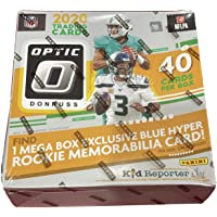 $263 » 2020 Panini Donruss Optic NFL Football MEGA box (40 cards/box) 1 Rookie Memorabilia Card