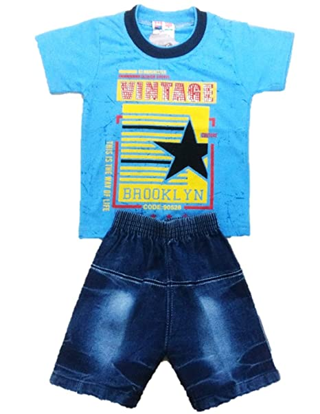 c4eef65f831d New Jain Traders - Summer Cotton Baby Boy s Half Sleeves T-Shirt ...
