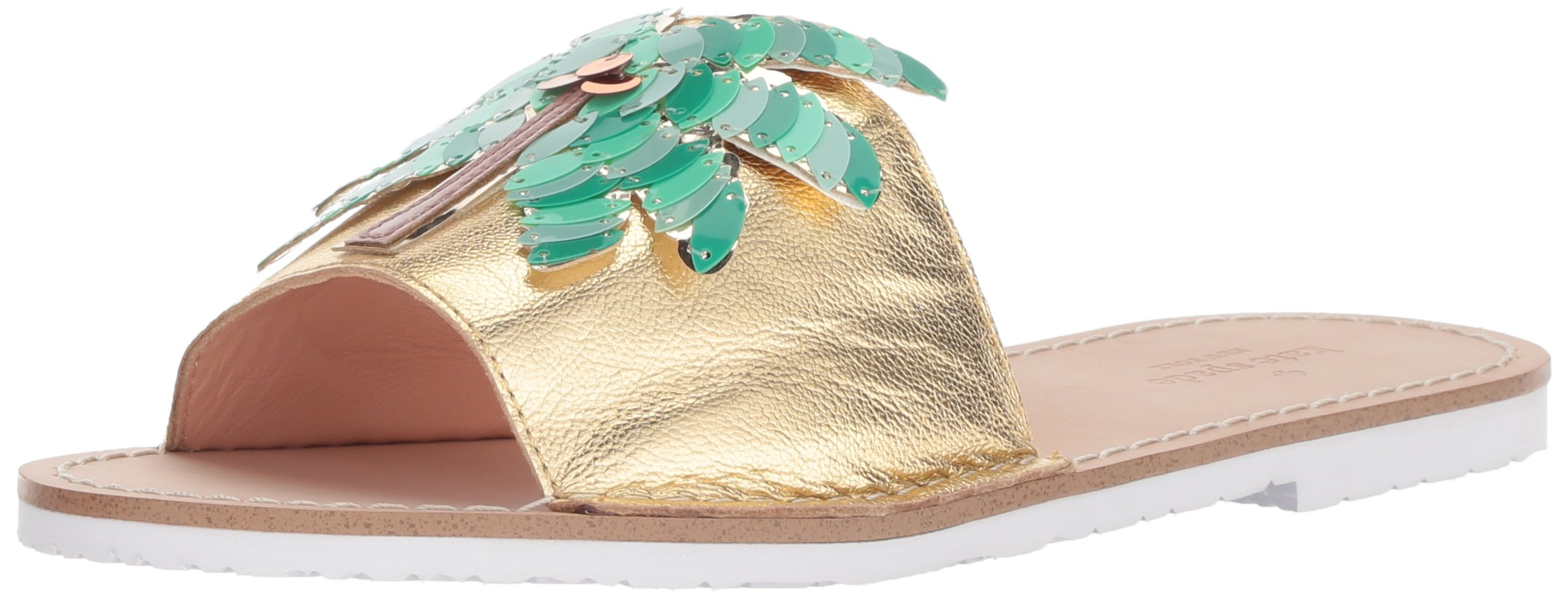 Kate Spade New York Women's Izele Slide Sandal, Gold, 9.5 M US