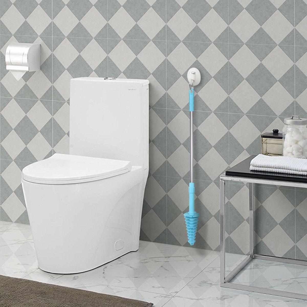 CNSTAR Toilet Plunger, Powerful High Pressure Suitable Sure Drain ...