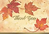 Great Papers! Fall Leaves, Folded, Thank You Note