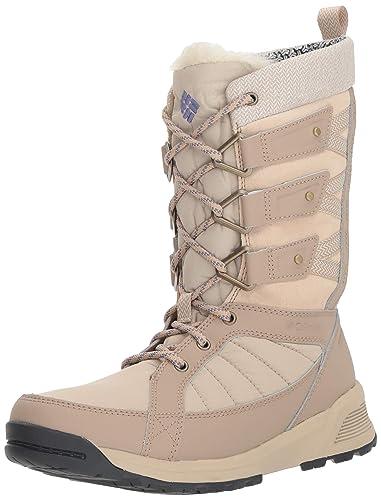 1ff9cbd24787 Columbia Women's Meadows Omni-Heat 3D Mid Calf Boot, Ancient Fossil, eve,