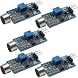 DAOKI 5PCS High Sensitivity Sound Microphone Sensor Detection Module For Arduino AVR PIC