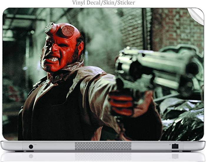 Laptop VINYL DECAL Sticker Skin Print Comic Book Hero fits Chromebook 2 13.3in.