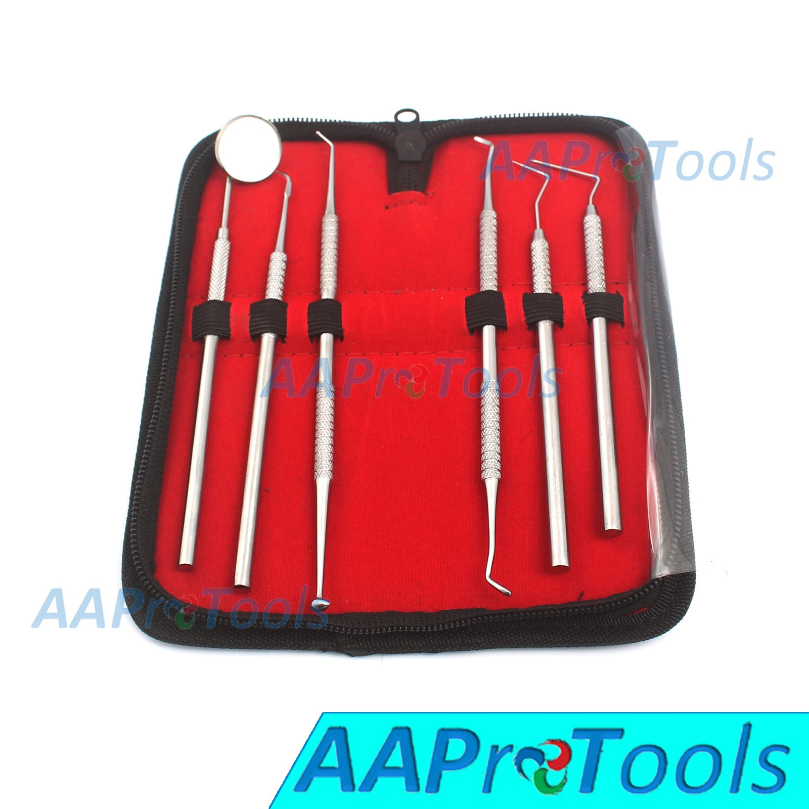 AAPROTOOLS DENTAL DENTIST PICK TOOL KIT 6 PIECE A+ QUALITY
