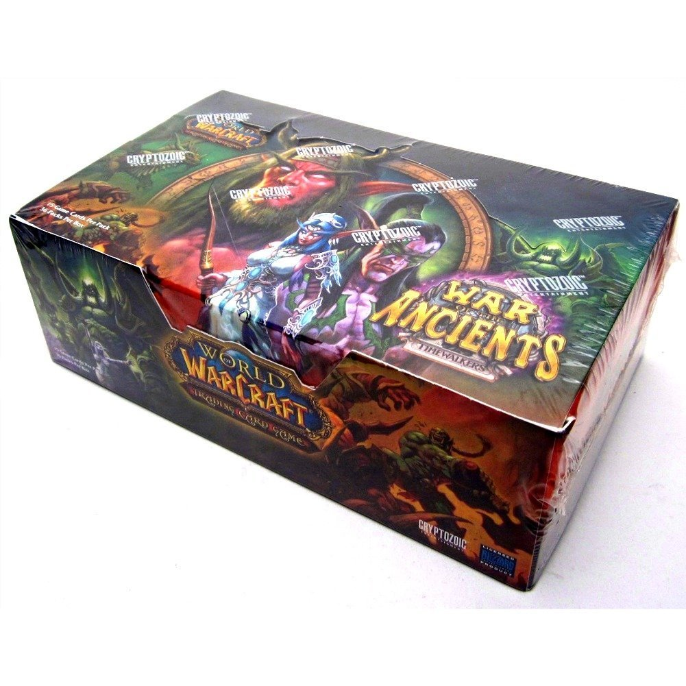 World of Warcraft Timewalkers: War of the Ancients Booster Box, 36 Packs (15 Cards per Pack)