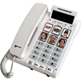 amplicomms bigtel 40 plus  Amplicomms BigTel 40 Plus Amplified Big Button Telephone with ...