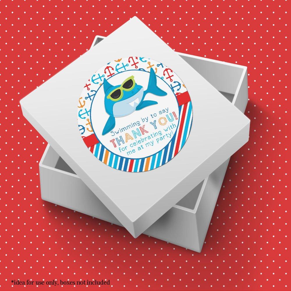 Amazon.com: SHARK en anteojos de sol fiesta de cumpleaños ...