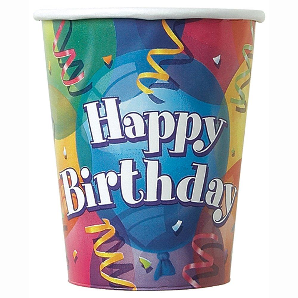 Unique Party 11342 - Tovaglioli di Carta Brillante Compleanno, Confezione da 16