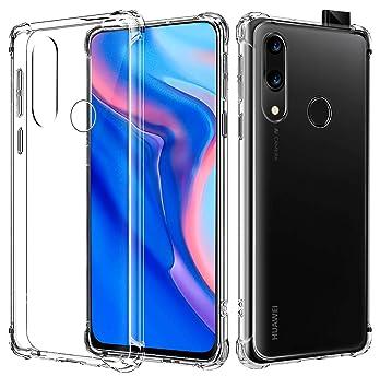 AIFIVE Funda para Huawei P Smart Z, Carcasa Silicona Transparente Protector TPU, Anti-Choque, Ultra-Delgado para Huawei P Smart Z (Transparente)