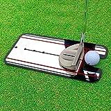 Golf Putting Mirror Alignment Training Aid Swing Trainer Eye Line Golf Practice Putting Mirror Large Golf Accessories 3114.5cm